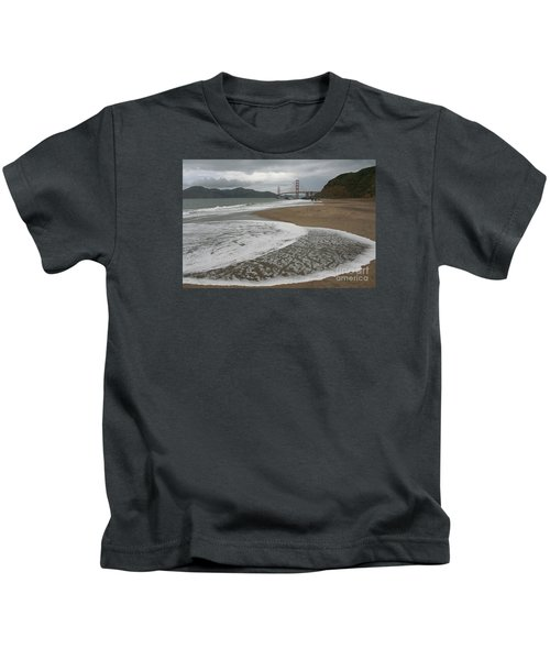 Golden Gate Study #3 Kids T-Shirt