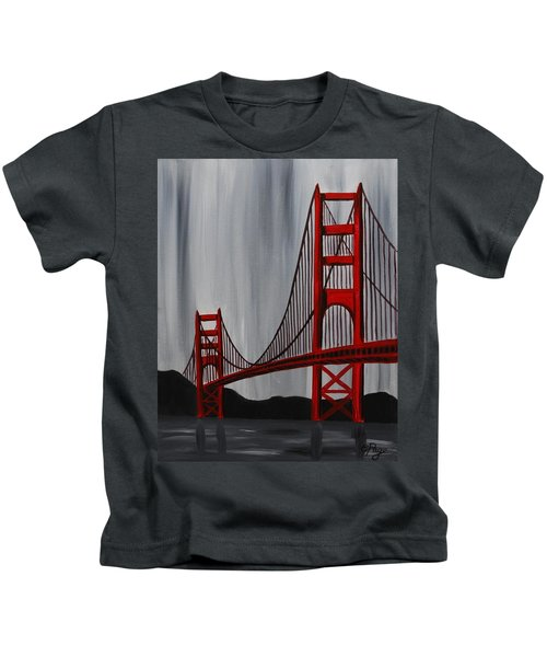 Golden Gate Bridge Kids T-Shirt