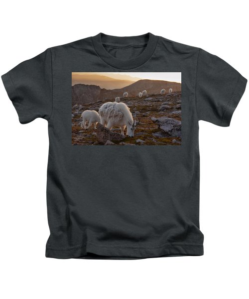 Golden Goat Herd Kids T-Shirt