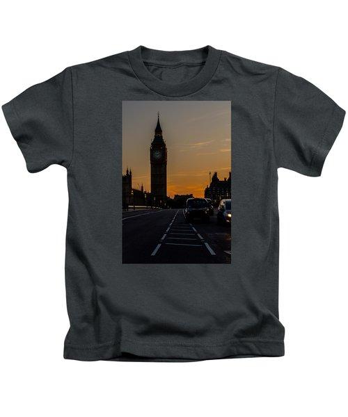 Golden Hour Big Ben In London Kids T-Shirt