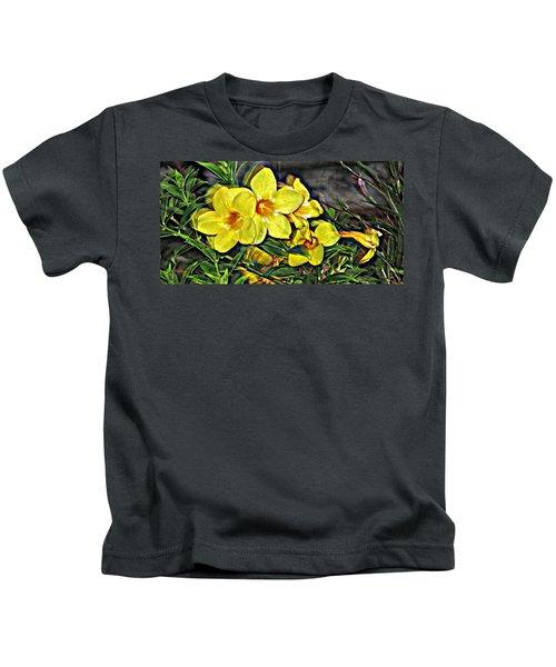 Golden Trumpets Kids T-Shirt