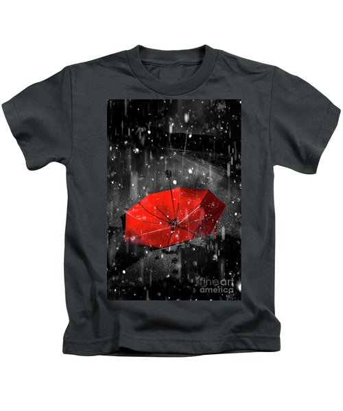 Gone With The Rain Kids T-Shirt