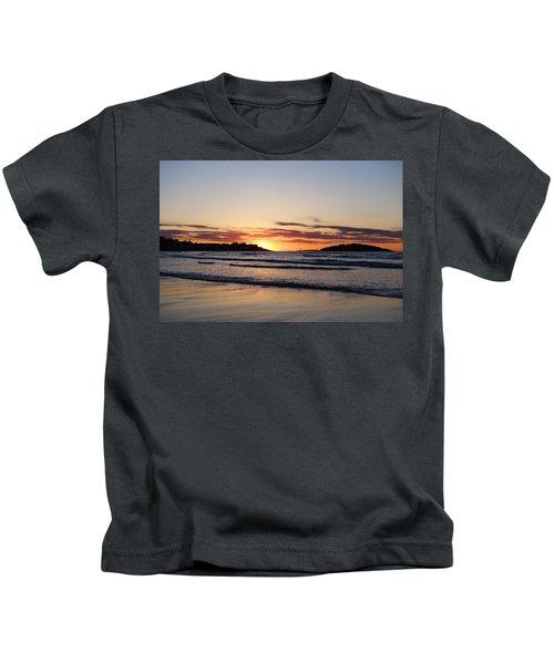 Good Harbor Beach At Sunrise Gloucester Ma Kids T-Shirt