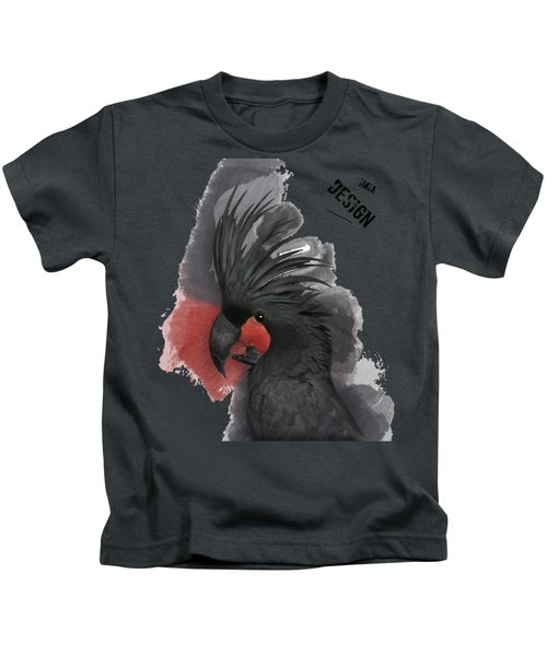 Gorgeous Palm Cockatoo In Profile  Kids T-Shirt