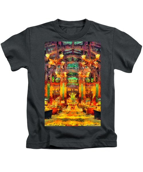 Grand Californian Resort Lobby Kids T-Shirt