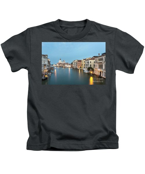 Grand Canal In Venice, Italy Kids T-Shirt