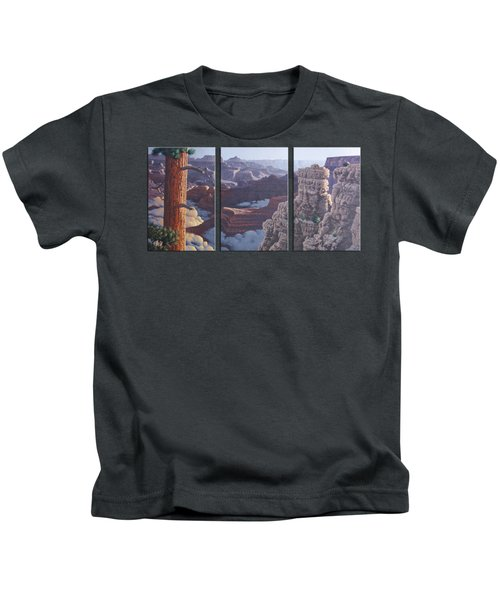 Grand Canyon Dawn Kids T-Shirt by Jim Thomas