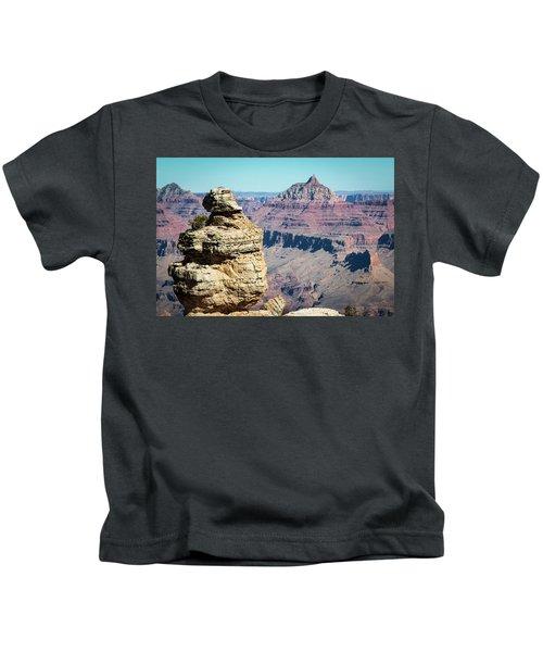 Grand Canyon Duck On A Rock Kids T-Shirt