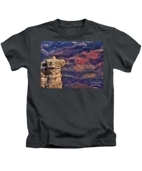Grand Canyon Stacked Rock Kids T-Shirt