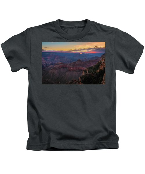 Grand Canyon Sunrise Kids T-Shirt