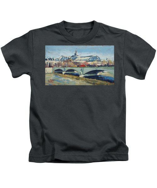 Grand Palace In Winter Paris Kids T-Shirt