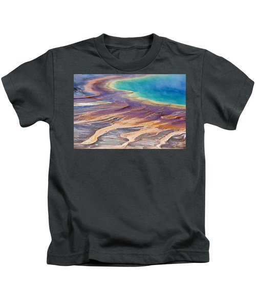 Grand Prismatic Spring 2 Kids T-Shirt
