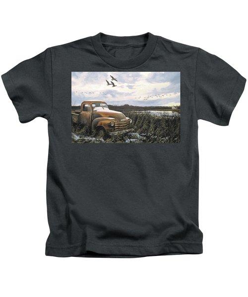 Grandpa's Old Truck Kids T-Shirt