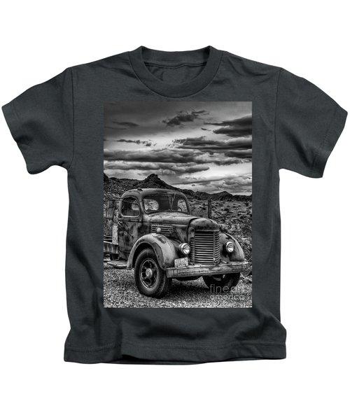 Grandpa's Ride Kids T-Shirt
