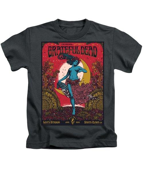 Grateful Dead Levi's Stadium Santa Clara Ca Kids T-Shirt