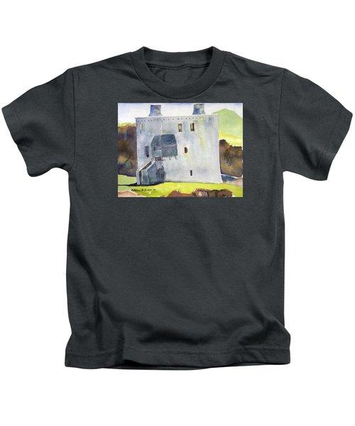 Gray Castle Kids T-Shirt