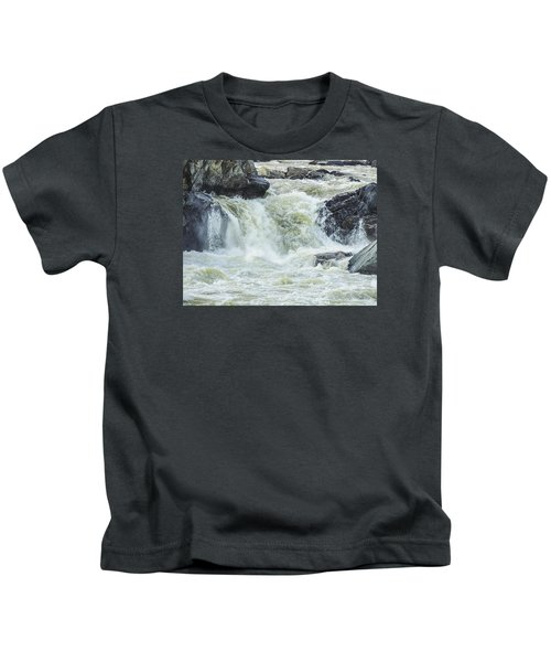 Great Falls Of The Potomac Kids T-Shirt
