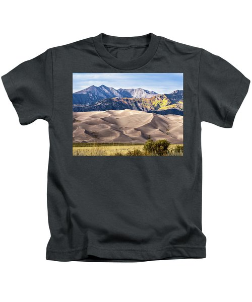 Great Sand Dunes Of Southern Colorado Kids T-Shirt