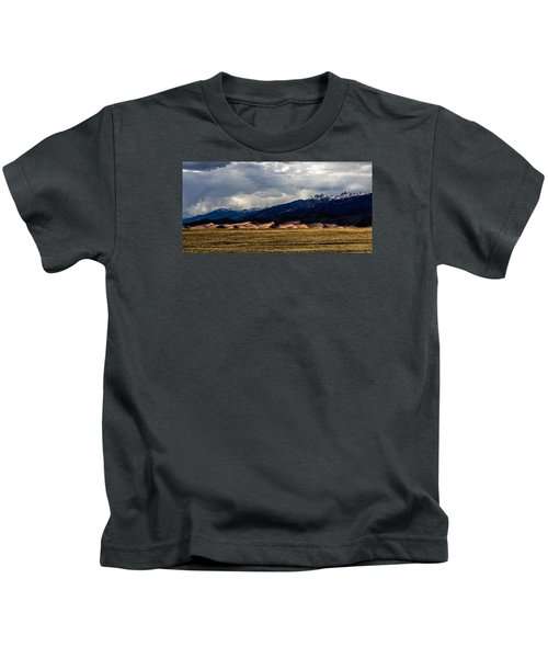 Great Sand Dunes Panorama Kids T-Shirt
