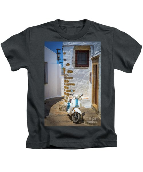Greek Scooter Kids T-Shirt