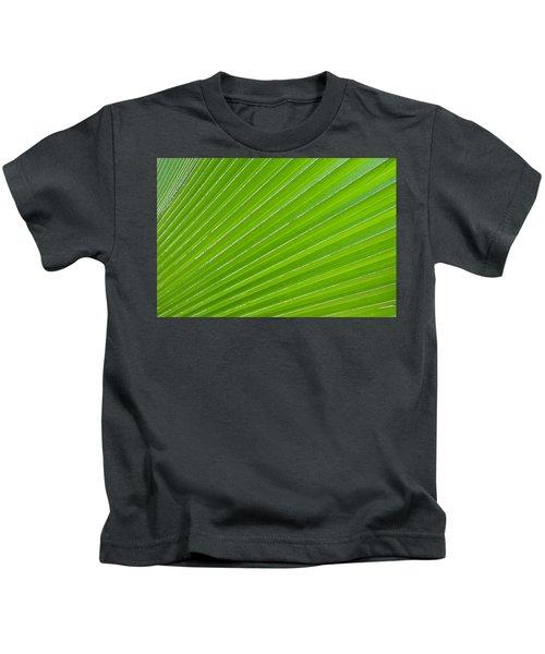 Green Abstract No. 1 Kids T-Shirt