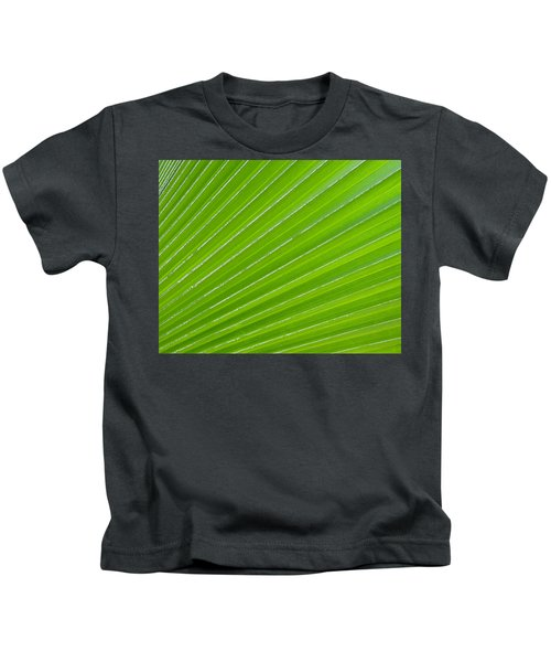 Green Abstract No. 1 Kids T-Shirt