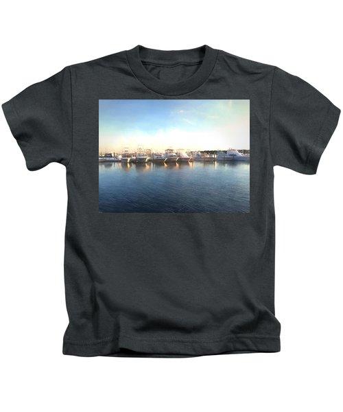 Green Pond Harbor Kids T-Shirt