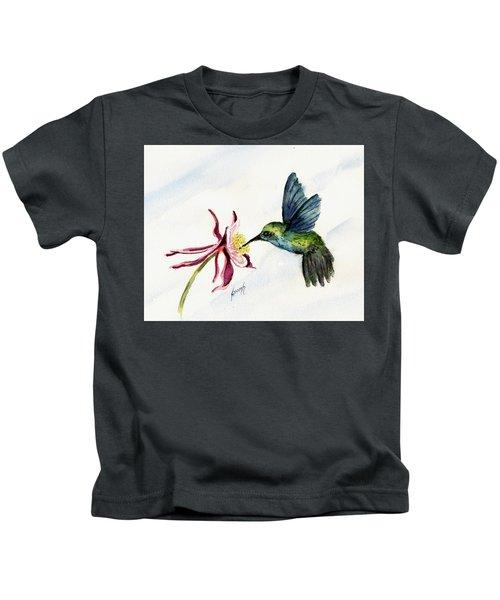 Green Violet-ear Hummingbird Kids T-Shirt