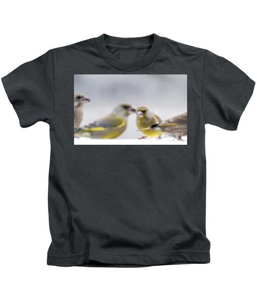 Greenfinches Kids T-Shirt