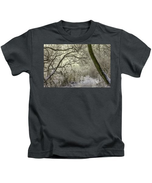 Grey Day #h1 Kids T-Shirt