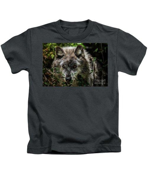 Grey Wolf Kids T-Shirt