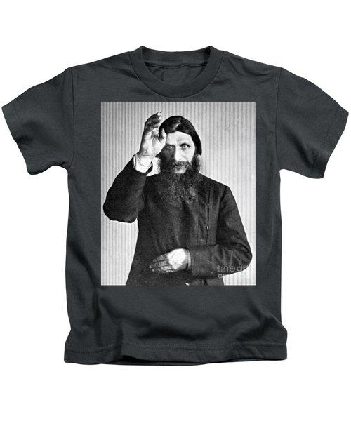 Grigori Rasputin, Russian Mystic Kids T-Shirt