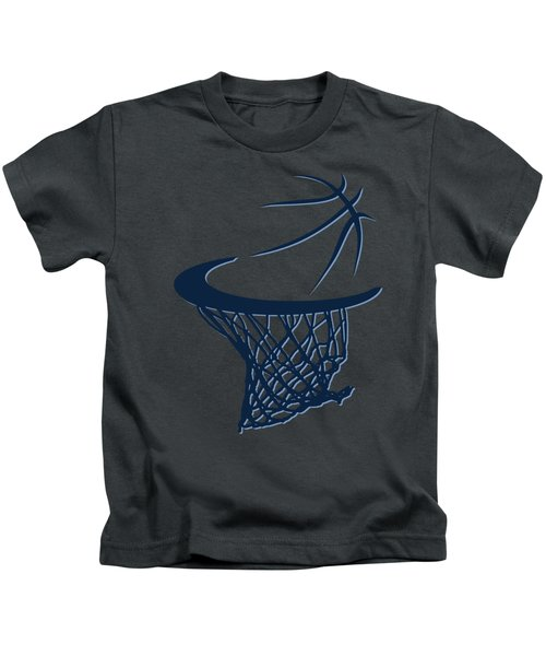 Grizzlies Basketball Hoop Kids T-Shirt