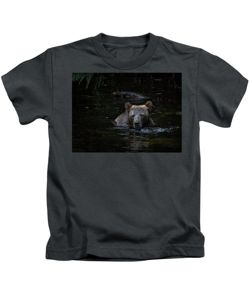 Grizzly Swimmer Kids T-Shirt