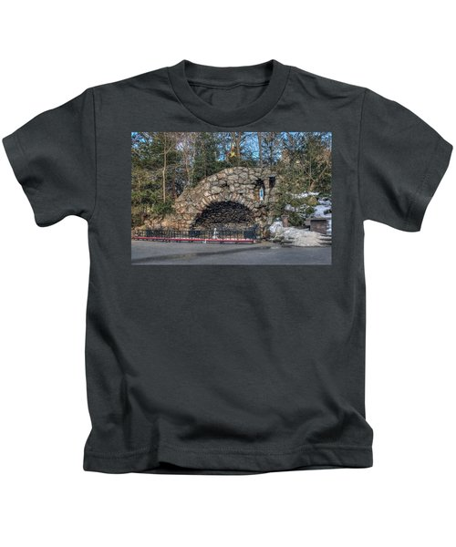 Grotto At Notre Dame University Kids T-Shirt
