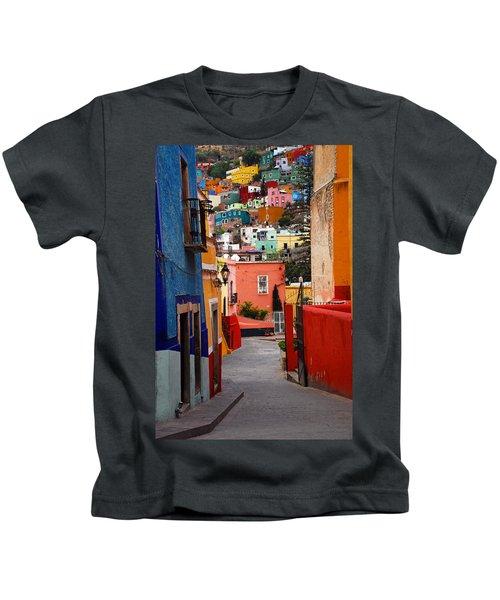 Guanajuato Lane Kids T-Shirt