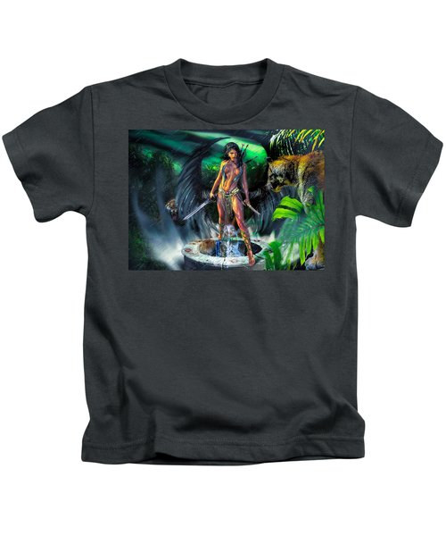 Guarded Treasure Kids T-Shirt