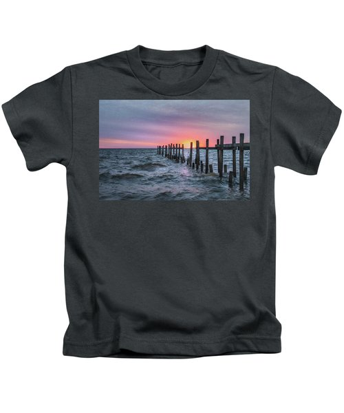 Gulf Coast Sunrise Kids T-Shirt