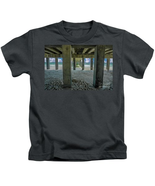 Gulf Shores Park And Pier Al 1649 Kids T-Shirt