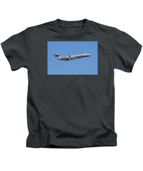 Gulfstream Gv Private Jet Kids T-Shirt