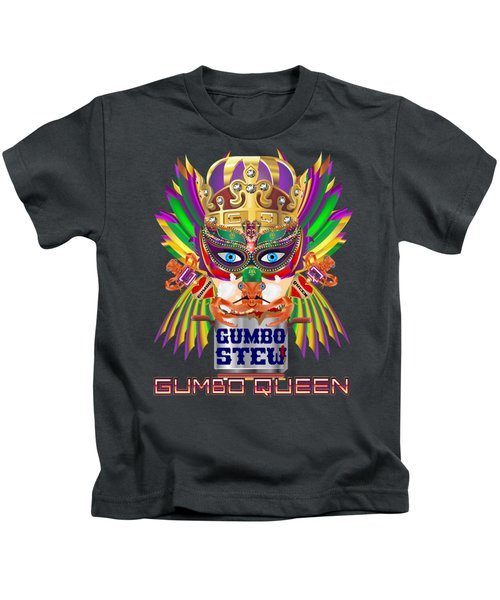 Gumbo Queen 1 All Products  Kids T-Shirt by Bill Campitelle