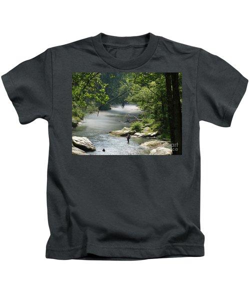 Gunpowder Falls  Kids T-Shirt