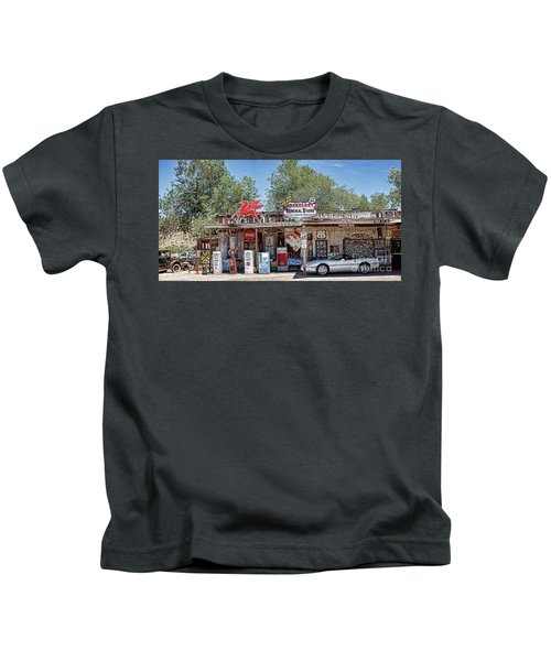 Hackberry General Store On Route 66, Arizona Kids T-Shirt