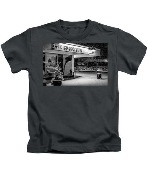 Hale Barns Co-op In The Snow Kids T-Shirt