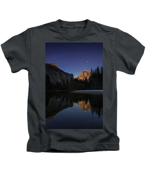 Half Dome, Twilight Kids T-Shirt