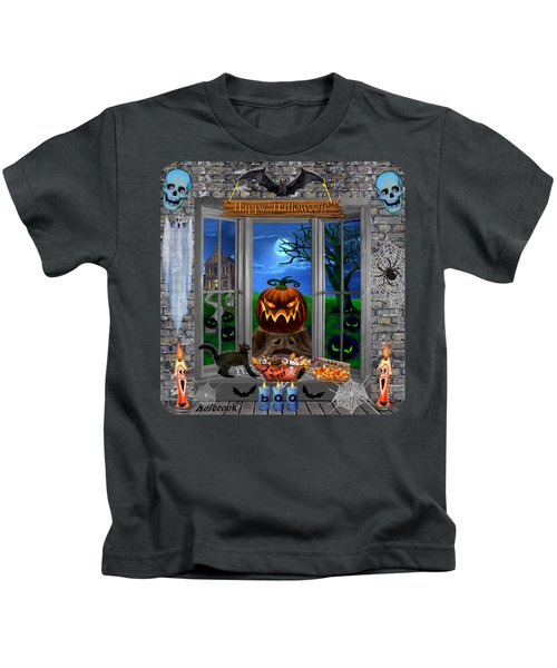 Halloween Night Stalker Kids T-Shirt