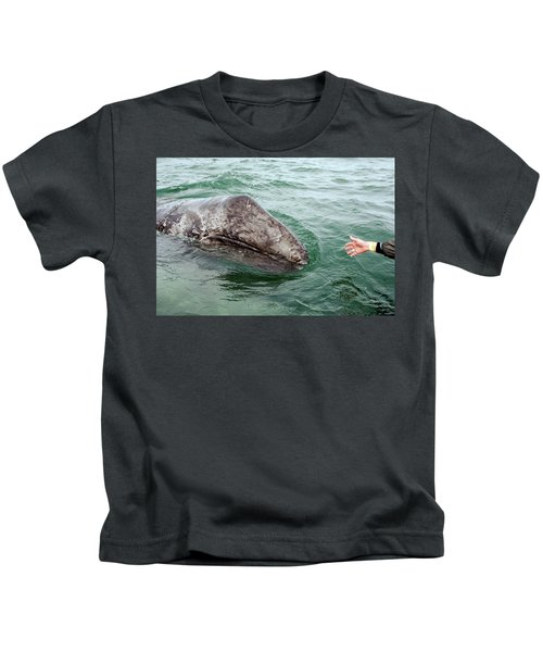 Hand Across The Waters Kids T-Shirt