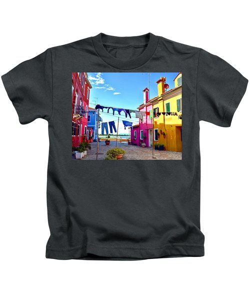 Hung Out To Dry Kids T-Shirt