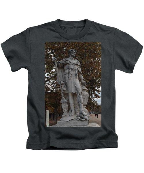 Hannibal Barca In Paris Kids T-Shirt