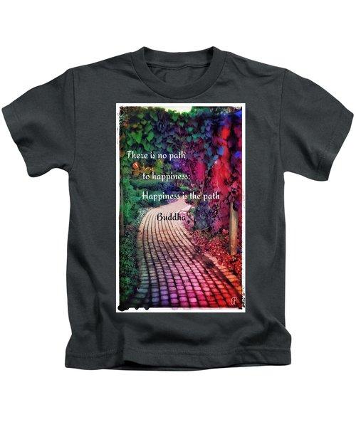 Happiness Path Kids T-Shirt